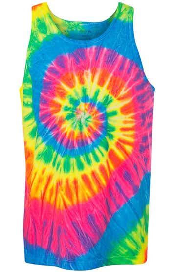 Dyenomite 420MS Fluorescent Rainbow Spiral
