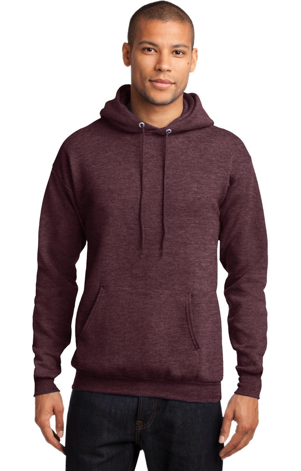 Port & Company PC78H Heather Athletic Maroon