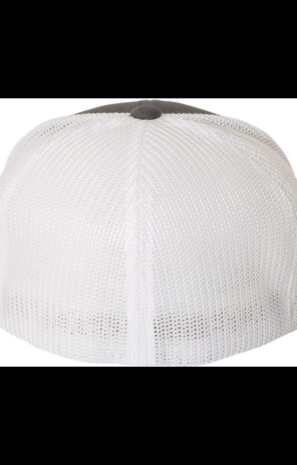 Flexfit 6511 Charcoal/ White