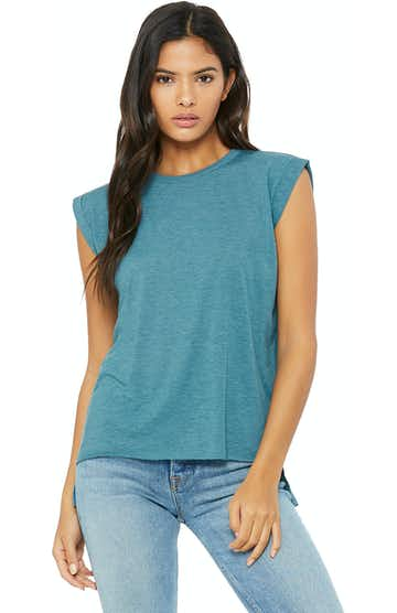 Bella + Canvas 8804 Heather Deep Teal