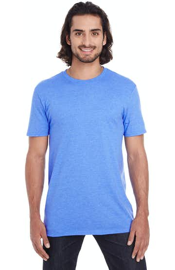 Anvil 980 Heather Royal Blue