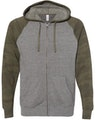 Independent Trading PRM33SBZ Nickel Heather / Forest Camo