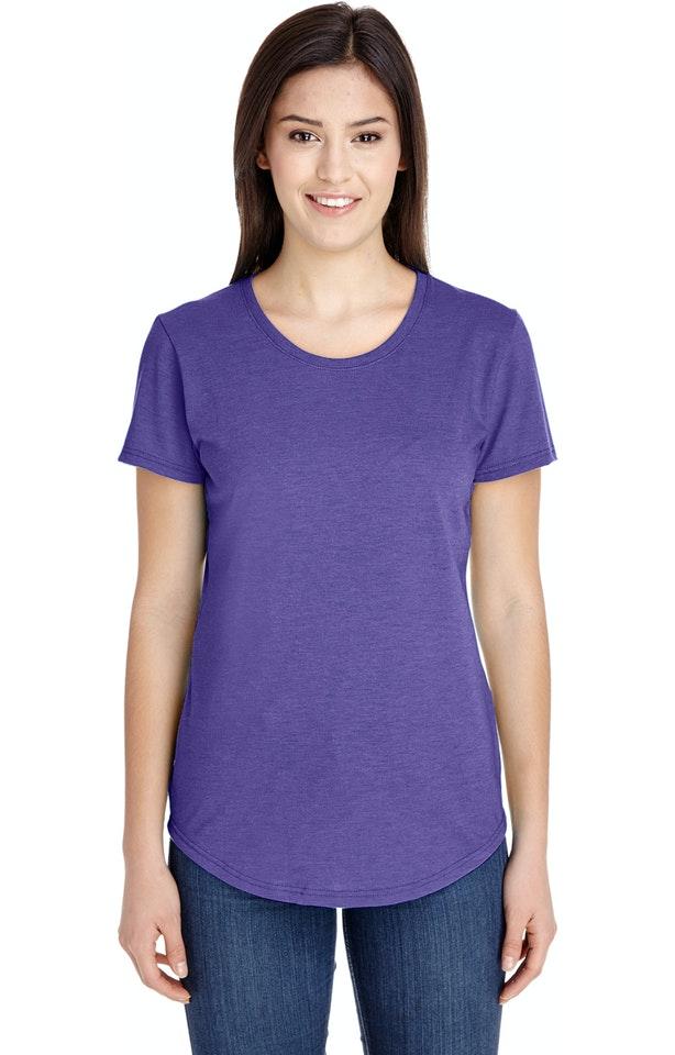 Anvil 6750L Heather Purple