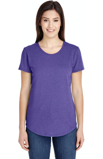 Anvil 6750L Heather Purple