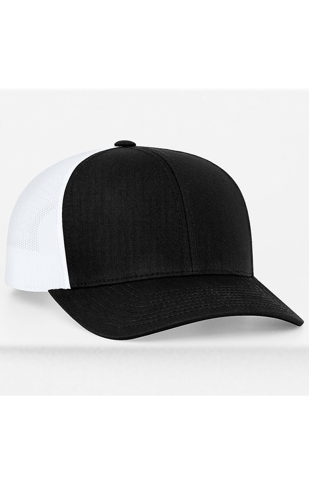 Pacific Headwear 0104PH Black/White