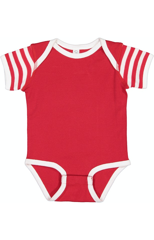 Rabbit Skins 4400 Red/ White/ Red & White Stripe