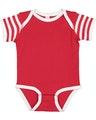Rabbit Skins 4400 Red / White / Red & White Stripe