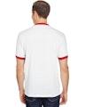Augusta Sportswear 710 White/Red