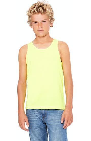 Bella + Canvas 3480Y Neon Yellow