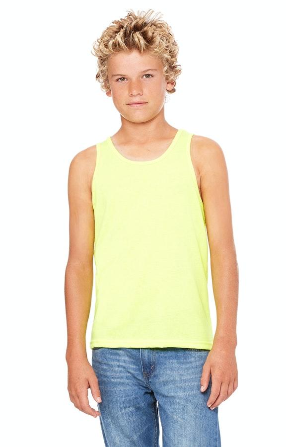 Bella + Canvas 3480Y Neon Yellow