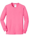 Port & Company PC54YLS Neon Pink