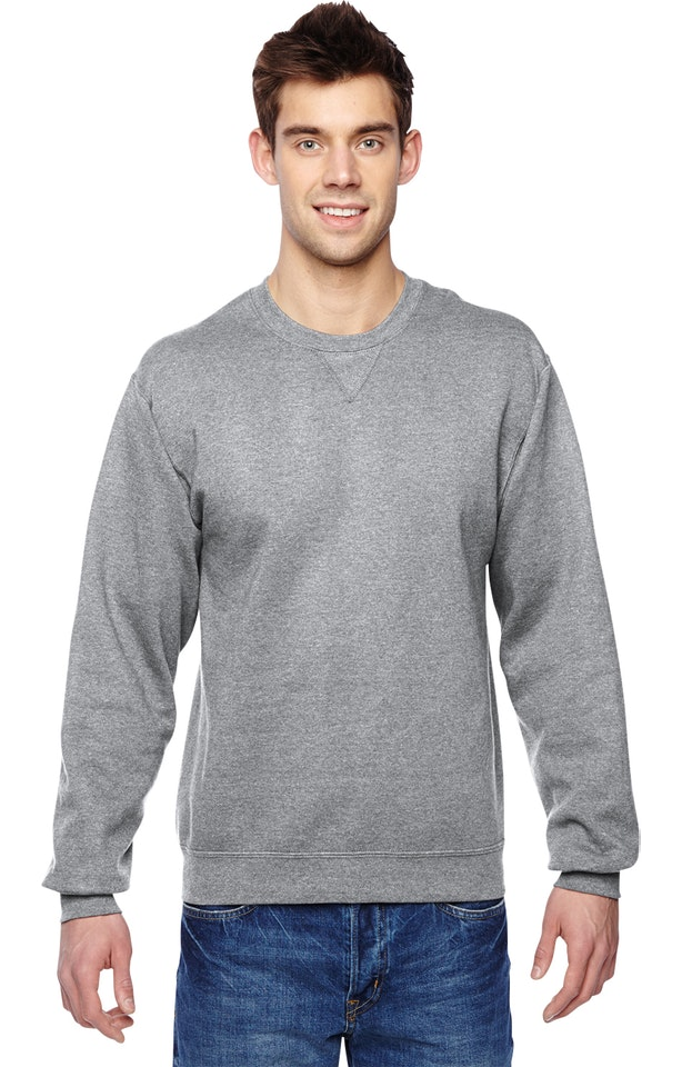 Fruit of the Loom SF72R Athletic Heather