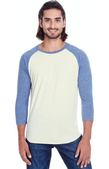 Threadfast Apparel 302G Cream/ Navy Trib