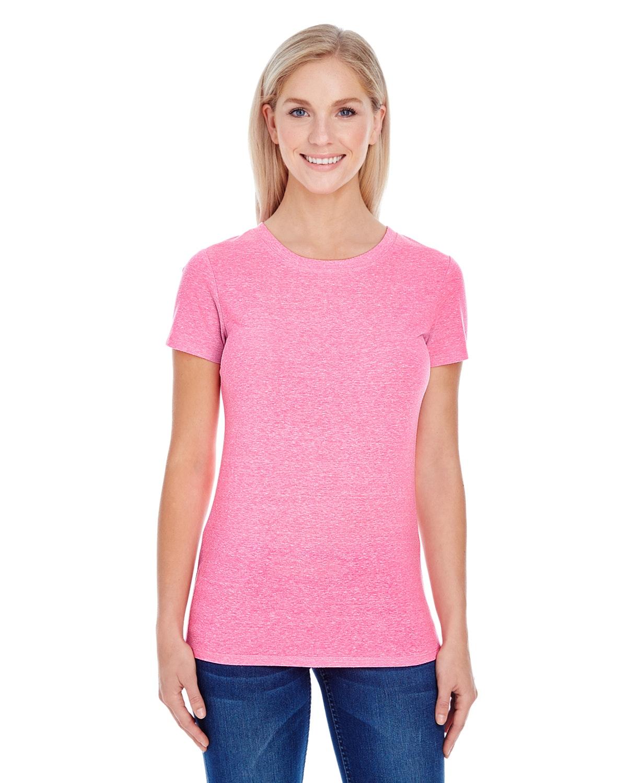 Threadfast Apparel 202A Neon Pink Tribld