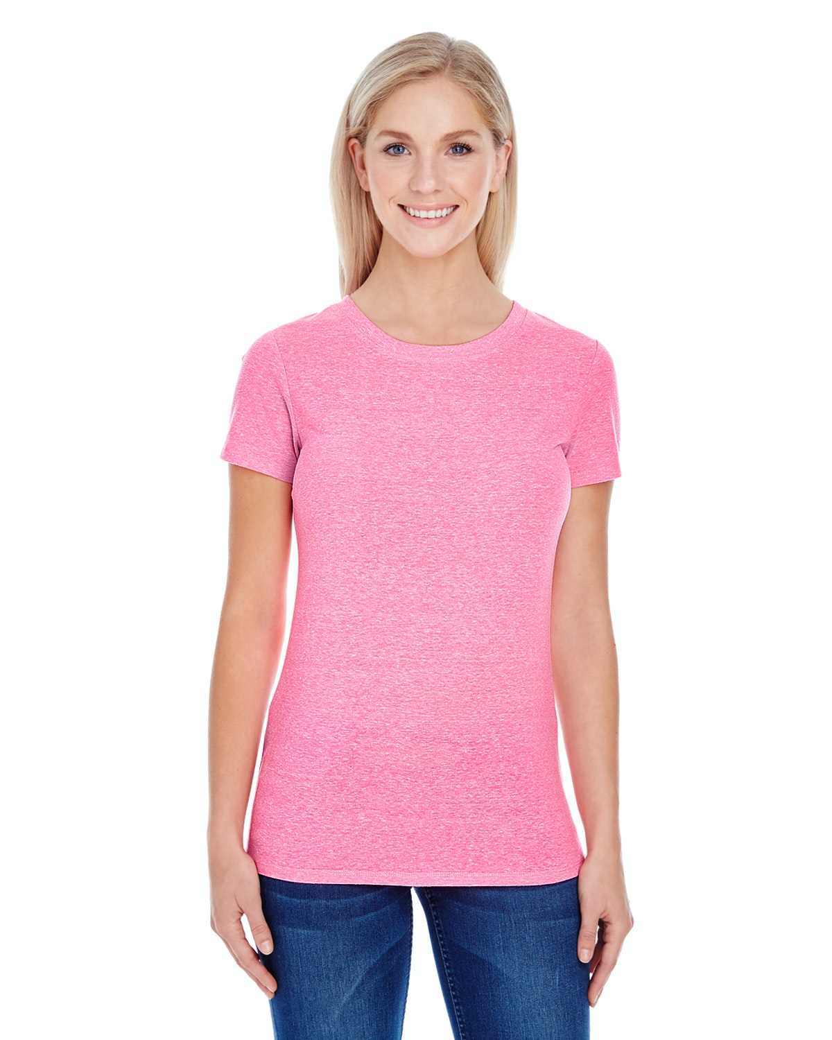 Threadfast Apparel 202A Neon Pink Tribld