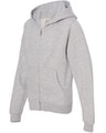 Independent Trading SS4001YZ Gray Heather
