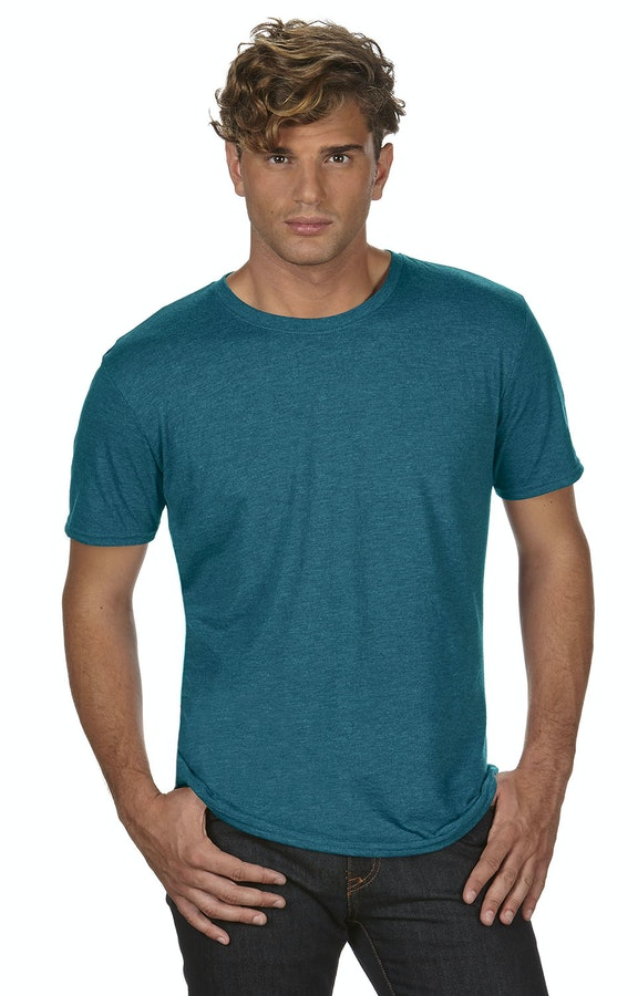Anvil 6750 Heather Galapagos Blue