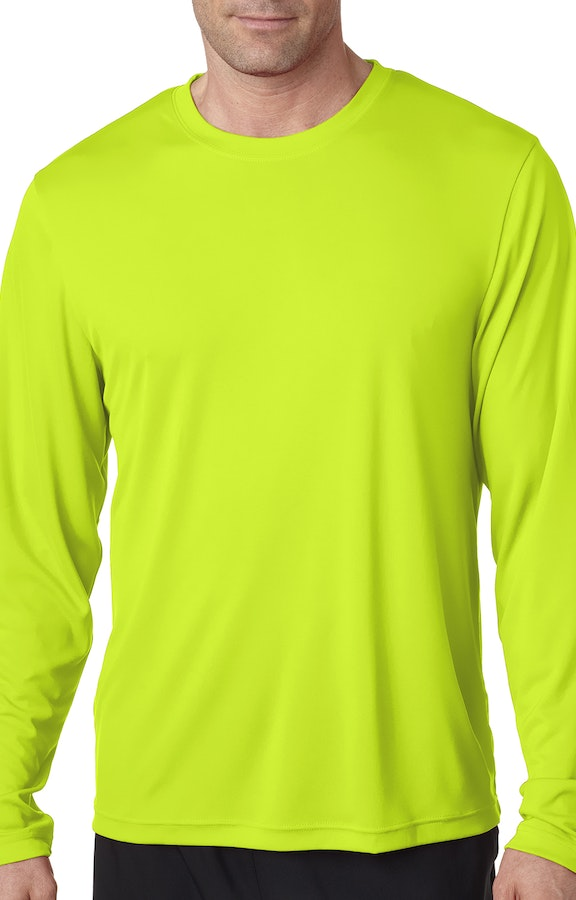c31c9c43 Hanes 482L Adult Cool DRI® with FreshIQ Long-Sleeve Performance T-Shirt -  JiffyShirts.com