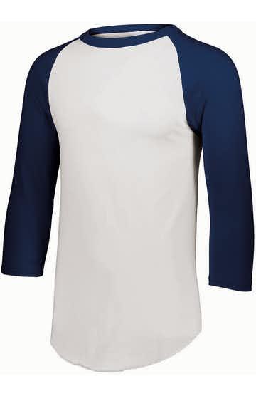 Augusta Sportswear AG4420 White/ Navy