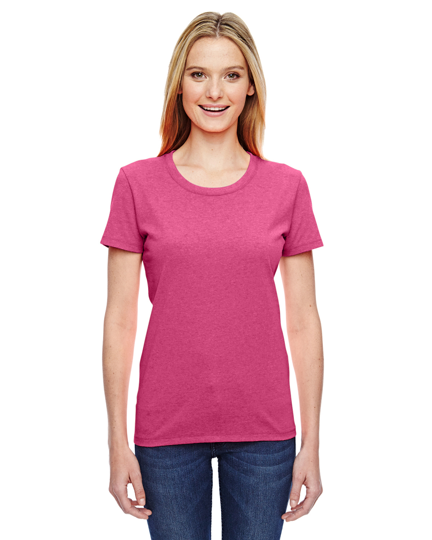 L3930R Fruit of the Loom HD Cotton Women/'s Short Sleeve T-Shirt