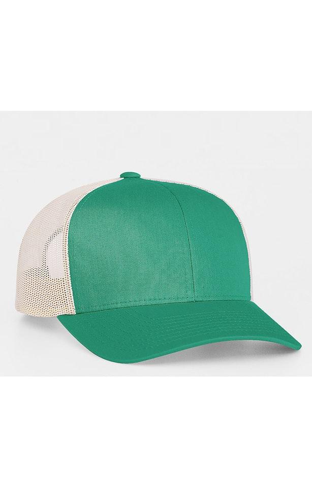 Pacific Headwear 0104PH Teal/Beige