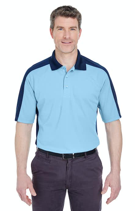 UltraClub 8447 Colum Blue/ Navy