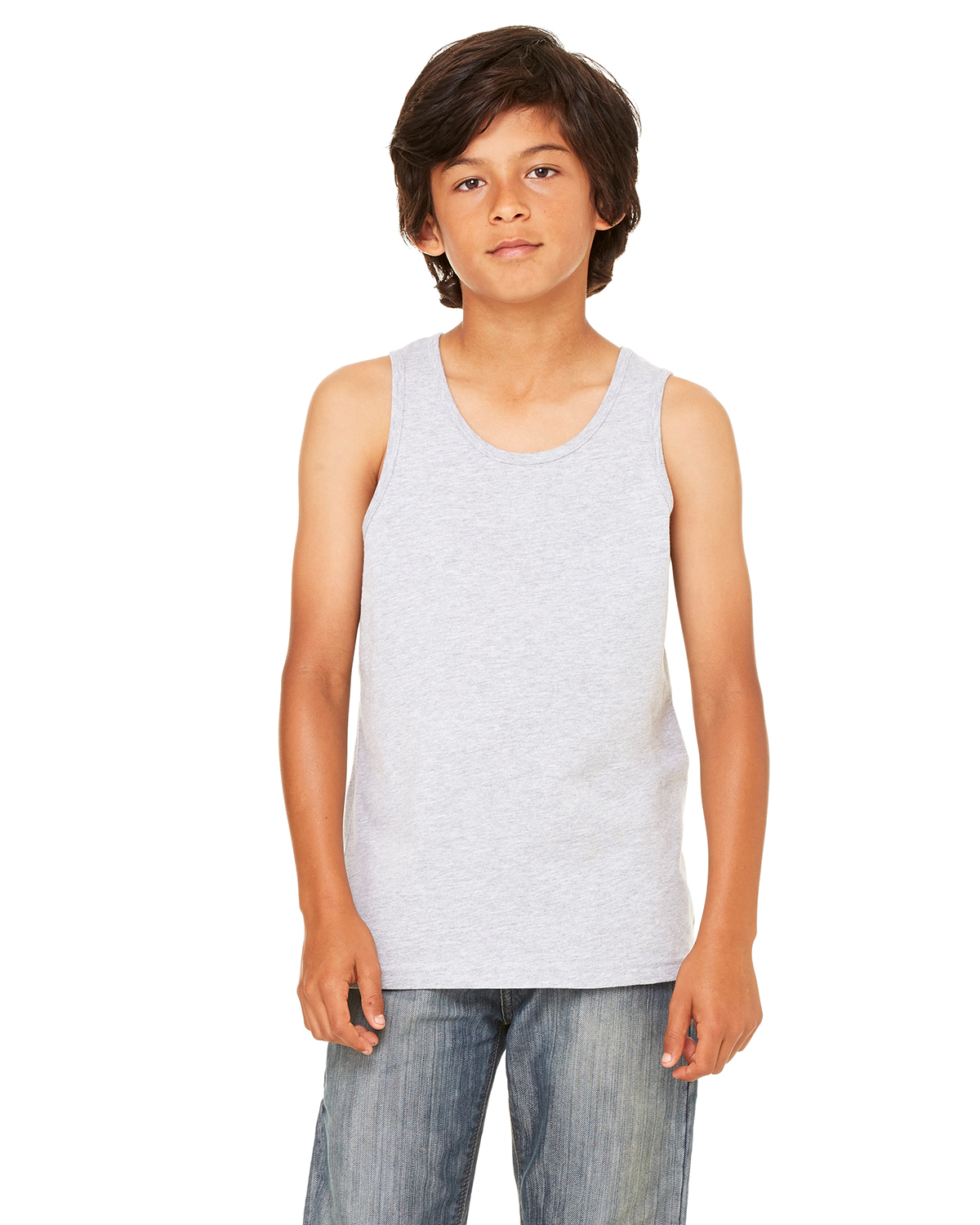 Canvas Youth Jersey Unisex Tank Top Boys Girls Sleeveless Tee 3480Y SALE Bella