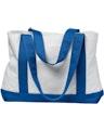 Liberty Bags 7002 White/Royal