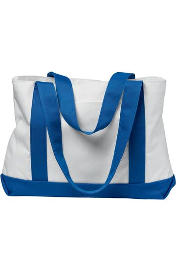 Liberty Bags 7002 White/Royal