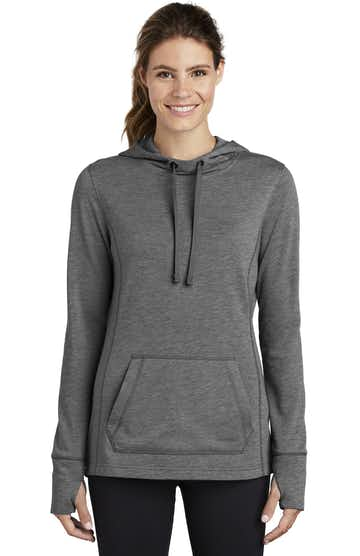 Sport-Tek LST296 Dark Gray Heather