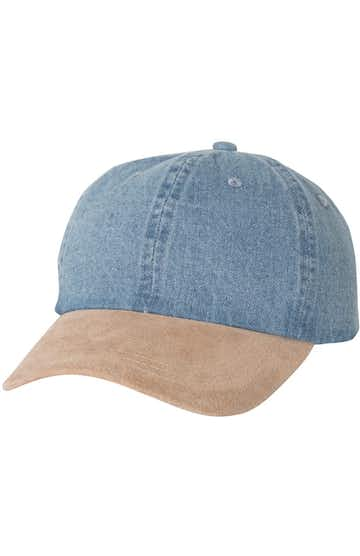 Mega Cap 7611 Blue Denim / Tan