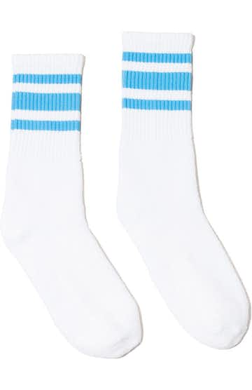 SOCCO SC100 White / Carolina Blue