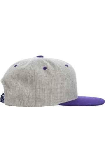 Yupoong 6089MT Heather/Purple