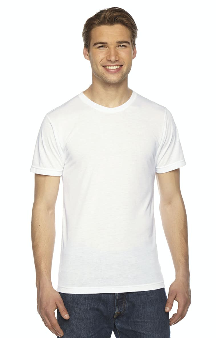 be4e53ea American Apparel PL401W Unisex Sublimation T-Shirt - JiffyShirts.com