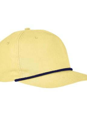 Big Accessories BA671 Yellow/ Navy