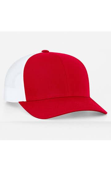 Pacific Headwear 0104PH Red/White