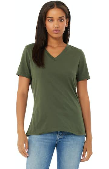 Bella + Canvas 6405 Military Green