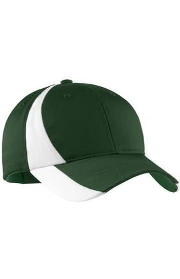 Sport-Tek STC11 Forest Green / White
