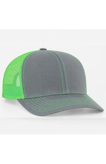 Pacific Headwear 0104PH Graphite/Neon Green