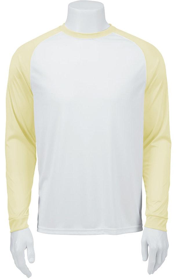 Paragon SM0215 White / Pale Yellow