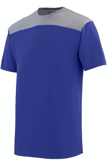 Augusta Sportswear 3055 Purple/ Grph Hth