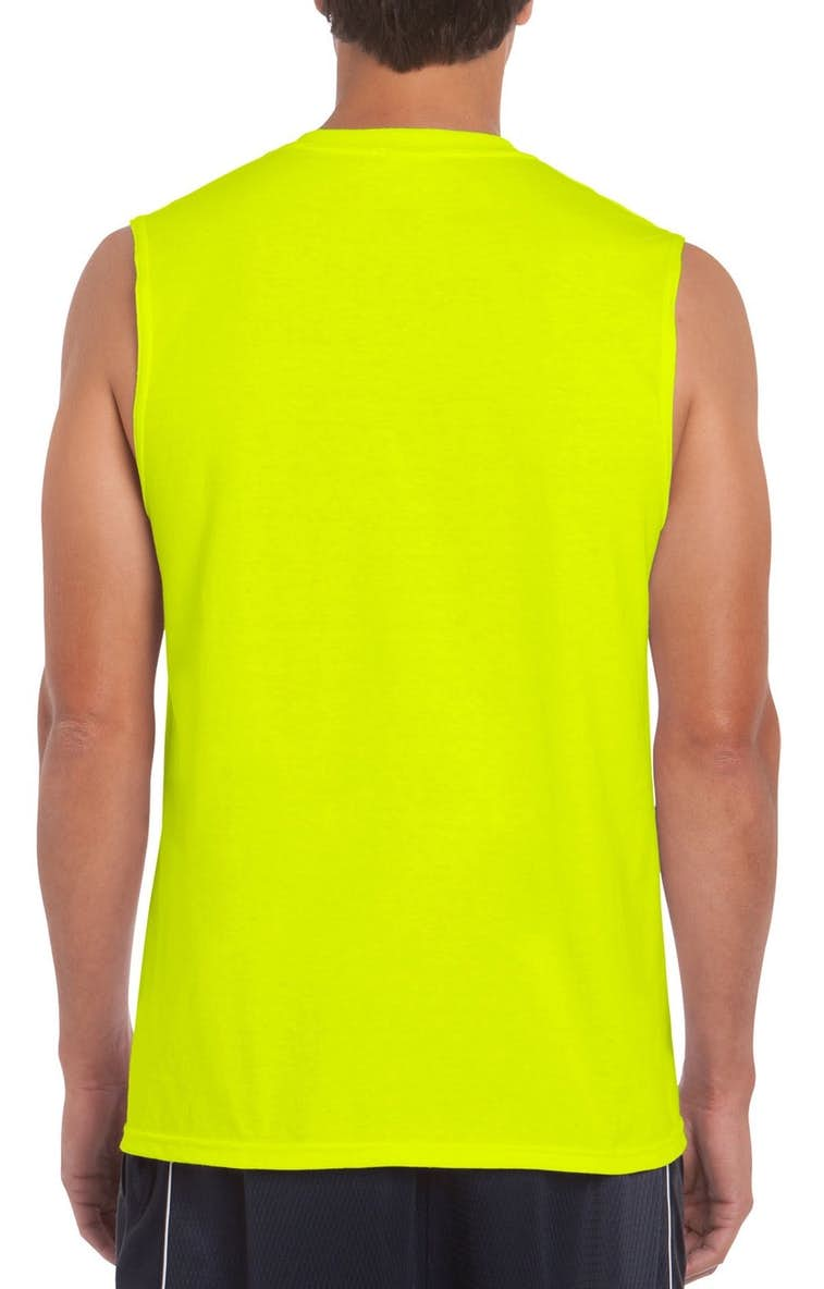 662eb9ef4ff24 Gildan G270 Adult Ultra Cotton® 6 oz. Sleeveless T-Shirt - JiffyShirts ...