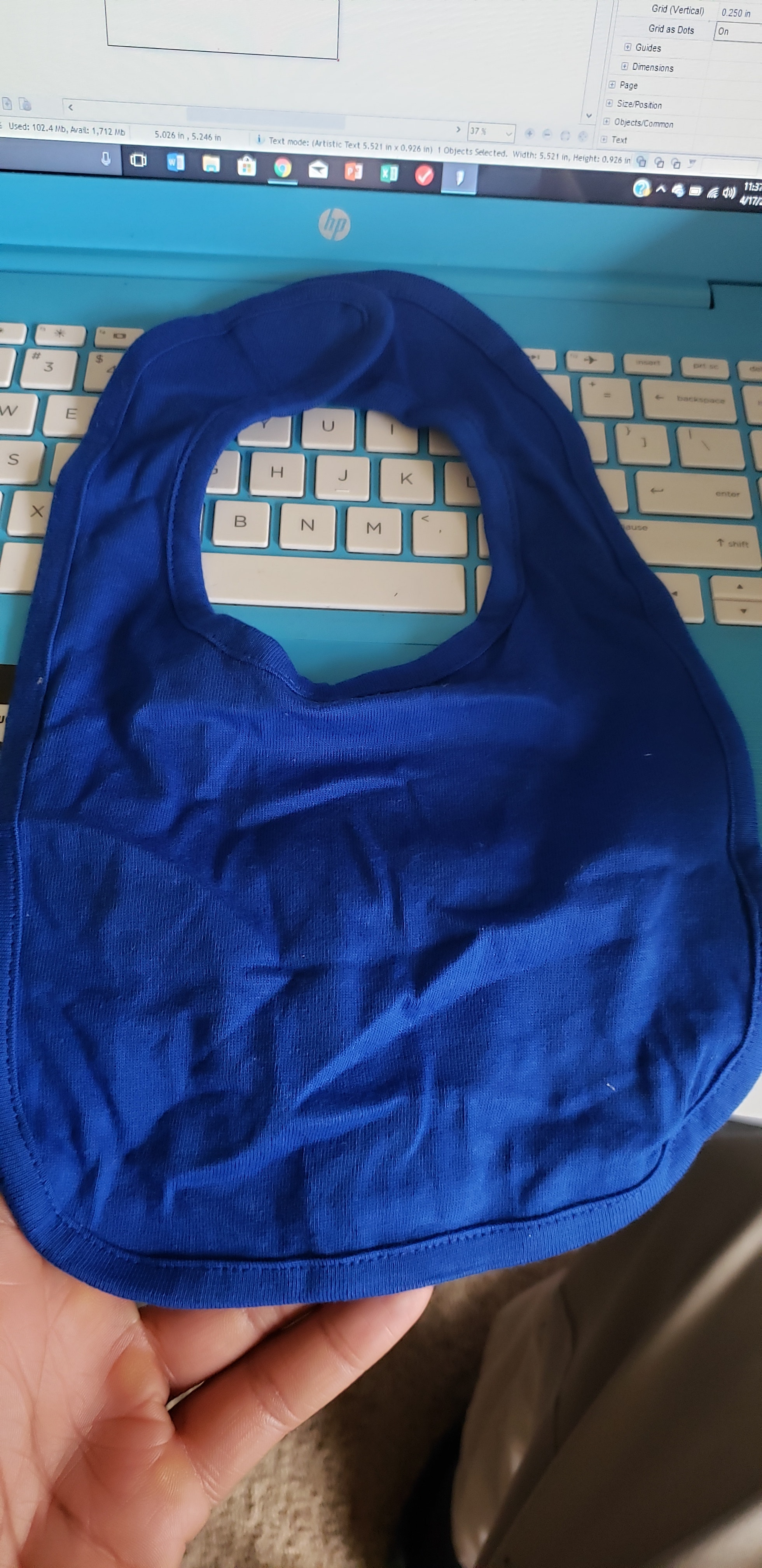 Rabbit Skins RS1005 customer review by Rodshun Webster Baby bibs