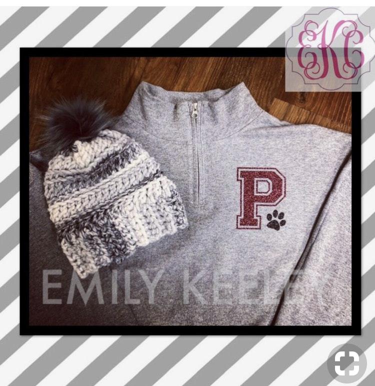 Jerzees 995M customer review by Emily Keeley Love this 1/4 zip sweatshirt!!!