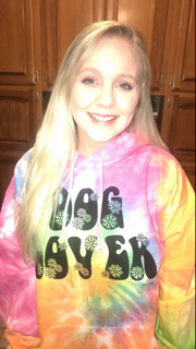 Tie-Dye CD877 customer review by  Excellent Hippie Hoodie!