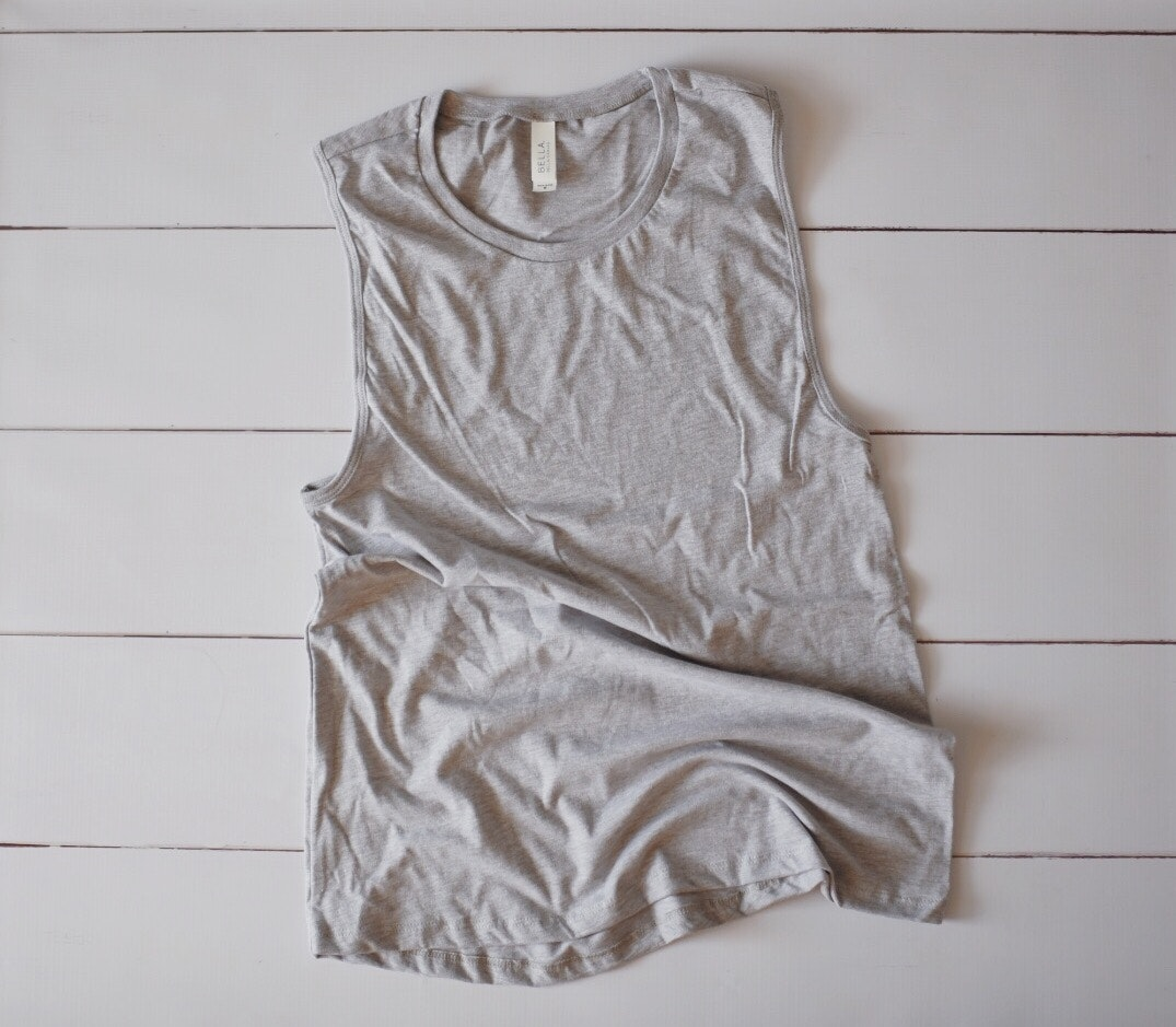 Bella+Canvas B6008 customer review by Kelsey Cooper Love these tank tops!