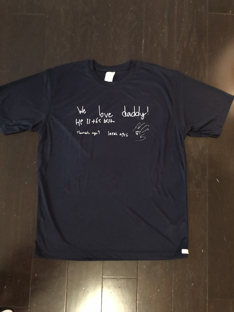 UltraClub 8620 customer review by Jessica McCarty Excellent Shirt - takes HTV well