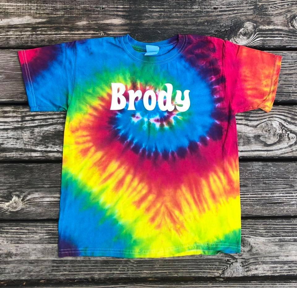 Tie-Dye CD100Y customer review by Kourtni Mowry Awesome Shirts!