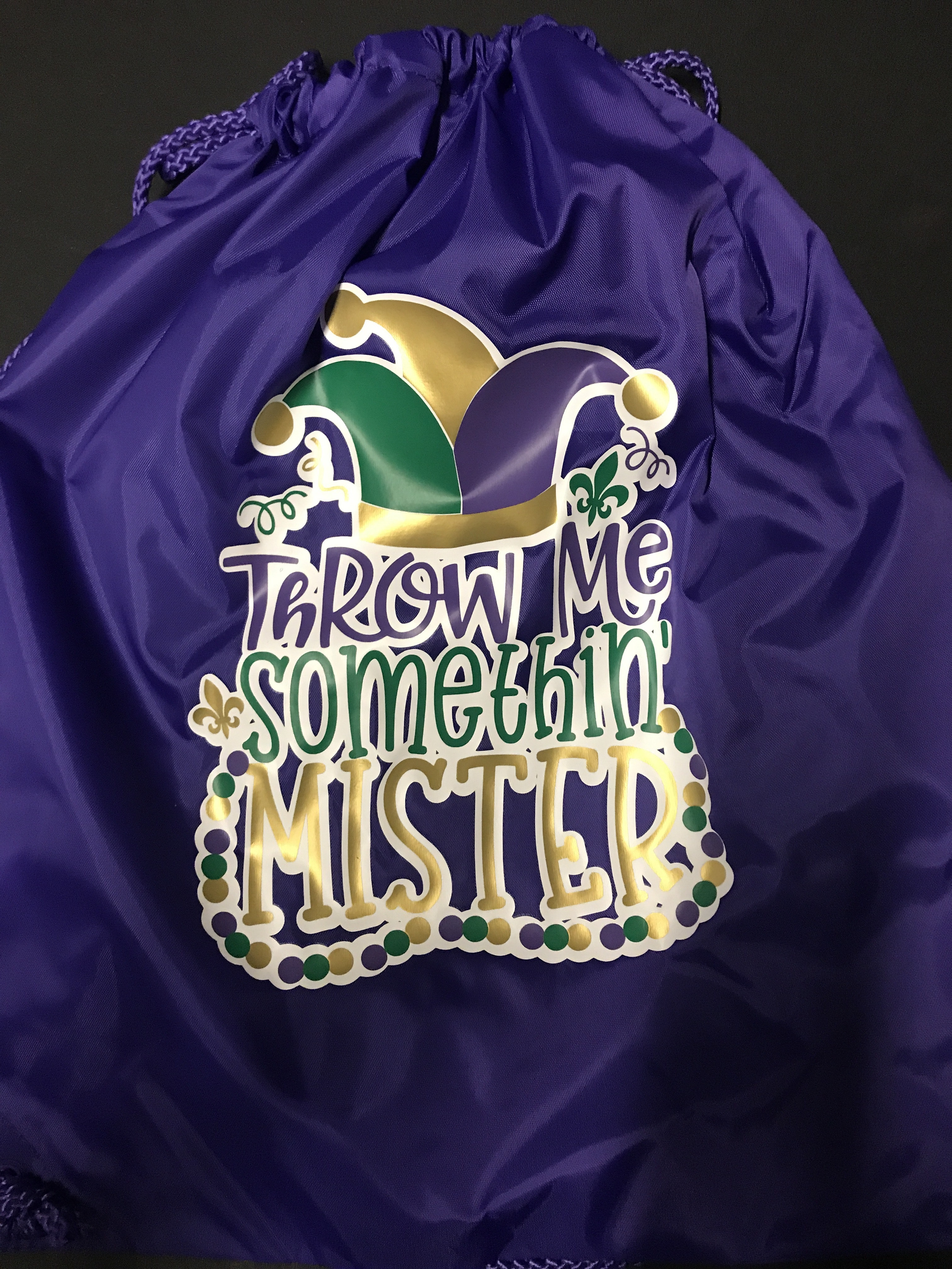 Liberty Bags 8882 customer review by  These bags are awesome for Mardi Gras throws